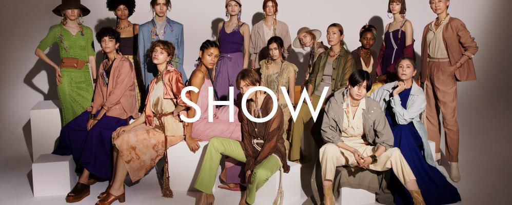 SNIDEL 2020春夏ファッションショー