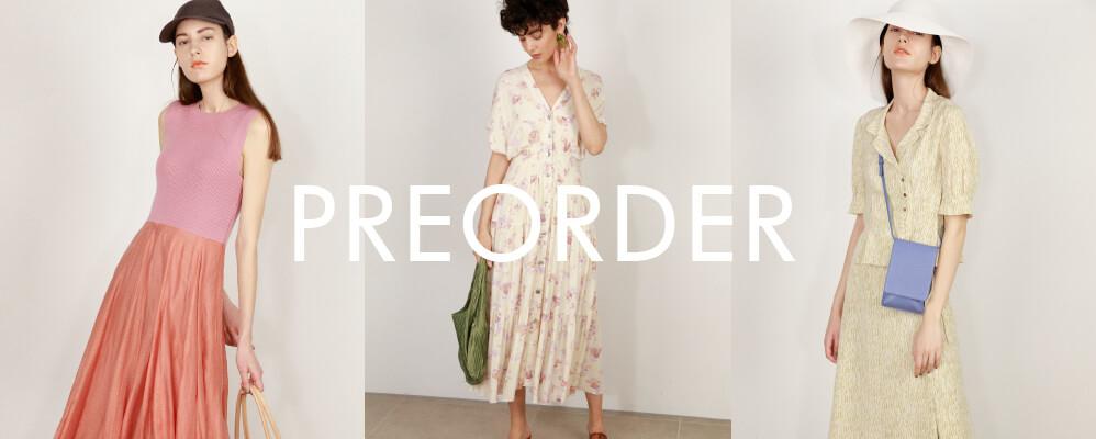 PRE ORDER 夏の新作コレクション先行販売開始しました