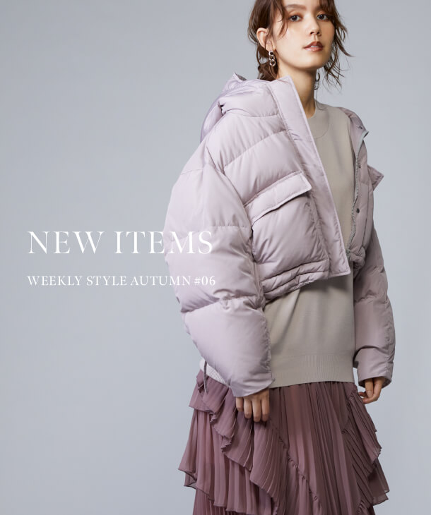 NEW ITEMS WEEKLY STYLE AUTUMN #06