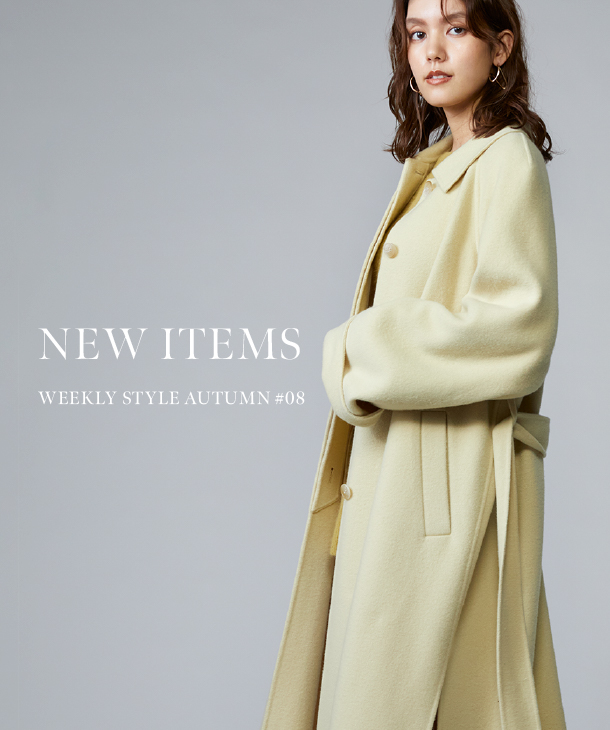 NEW ITEMS WEEKLY STYLE AUTUMN #08