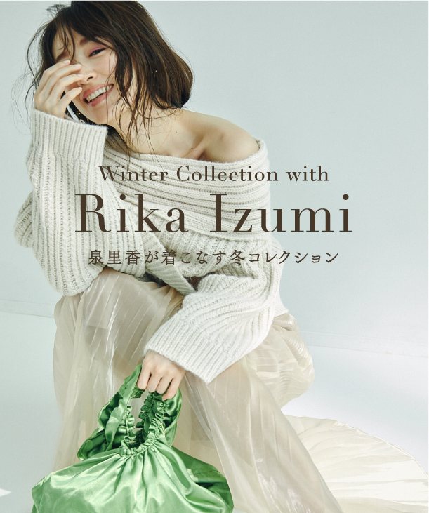 WINTER COLLECTION WITH RIKA IZUMI