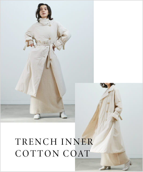 TRENCH INNER COTTON COAT