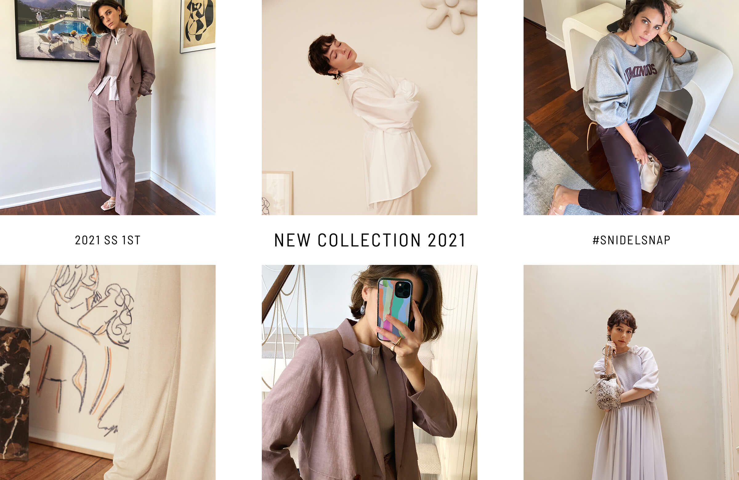 2021 SUMMER SPRING 1st catalog