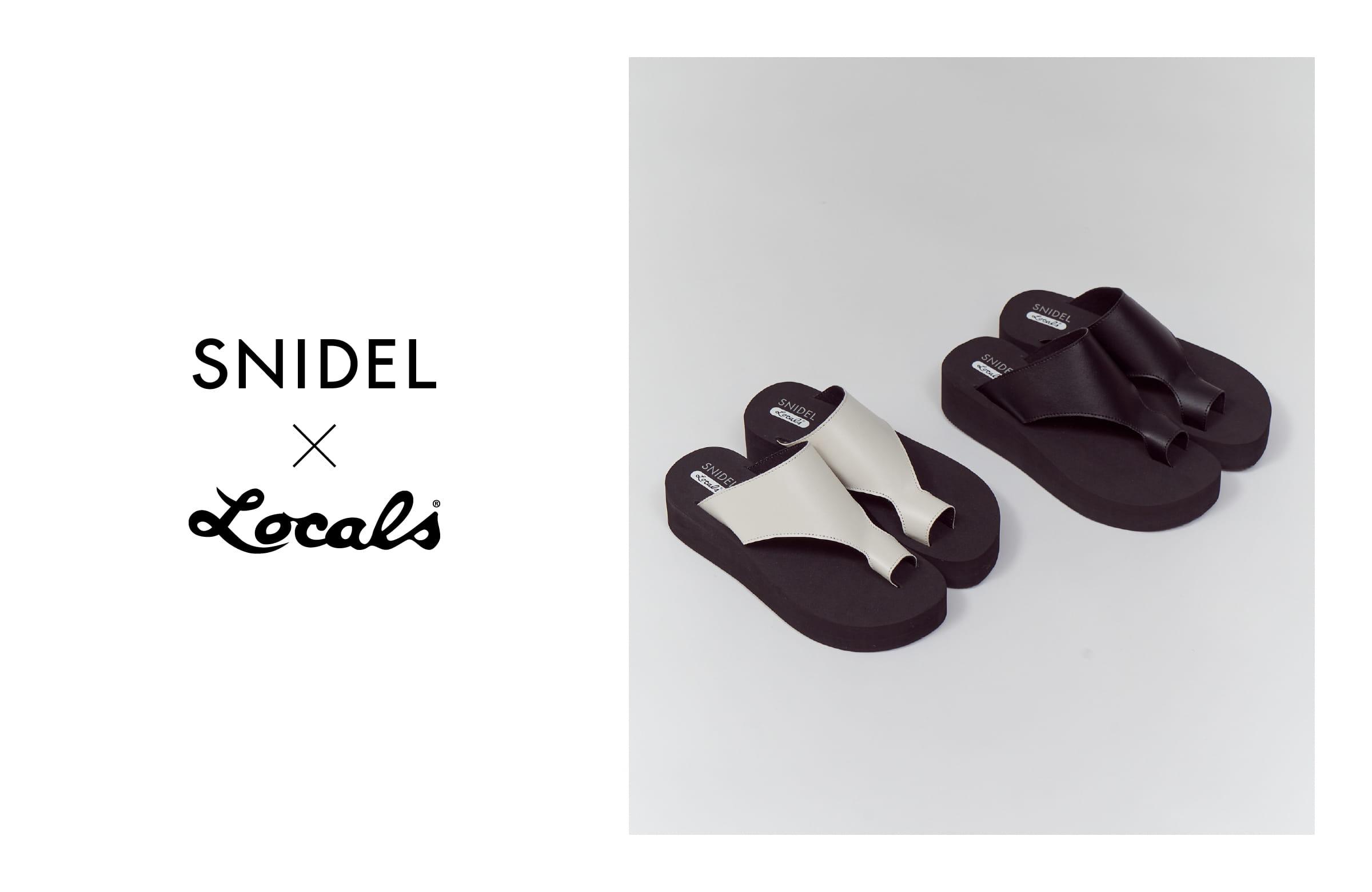 SNIDEL x Locals®