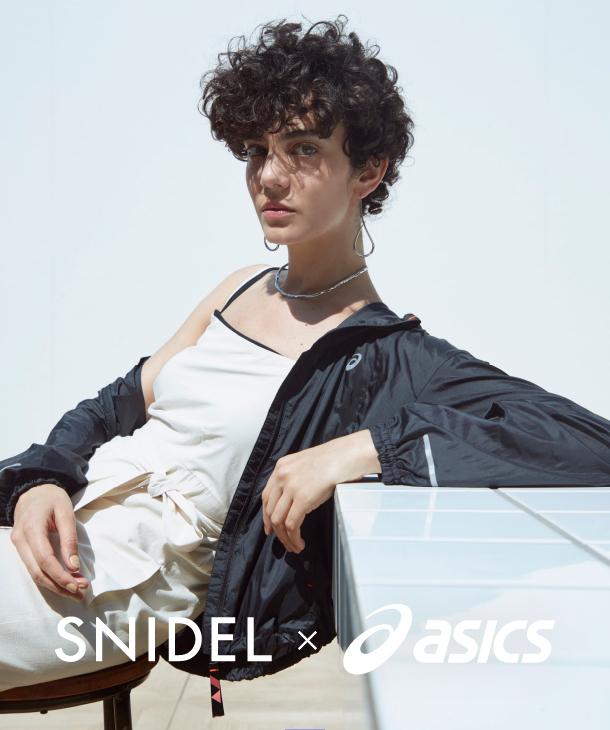 SNIDEL x ASICS