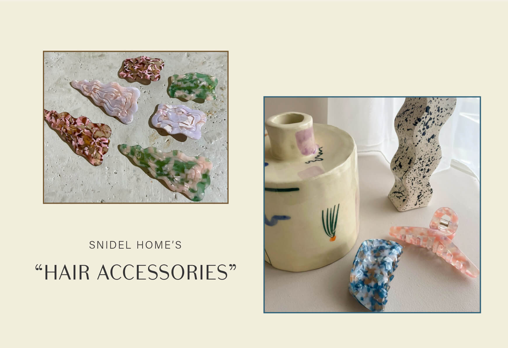 """SNIDEL HOME'S """"HAIR ACCESSORIES"""""""
