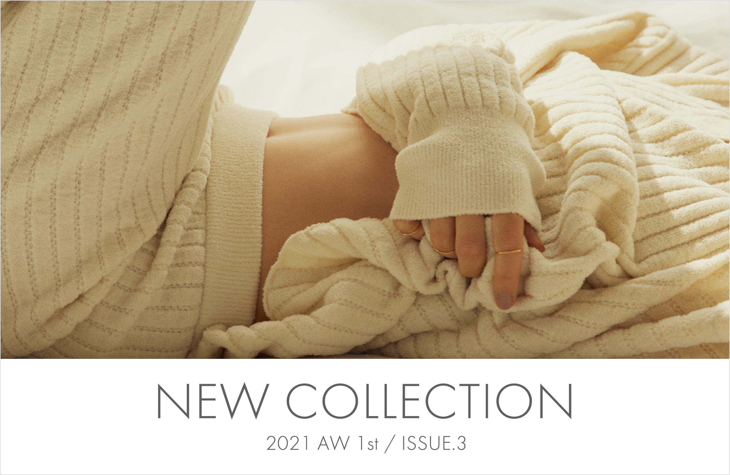 catalog ISSUE.3 / October Every day is a new day 日常の幸せを大切に