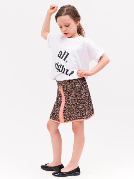 【SNIDEL KIDS】ビッグロゴTシャツ
