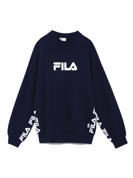 FILAスウェットプルオーバー(NVY-F)