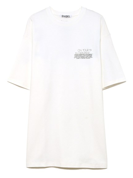 QUEEN ロゴTシャツ(WHT-F)