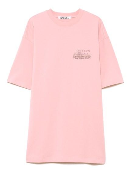 QUEEN ロゴTシャツ(PNK-F)