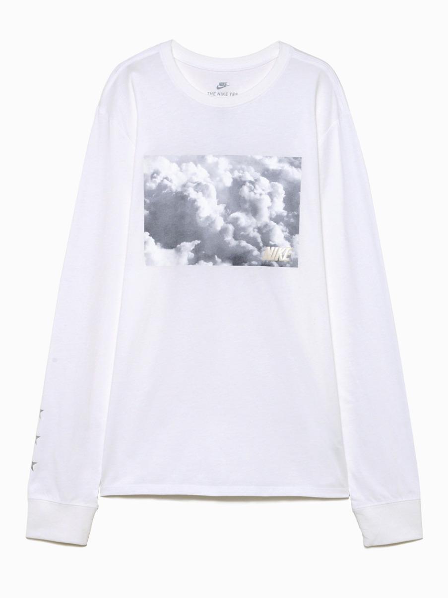 NIKE LongT-shirt(WHT-S)