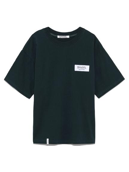ロゴテープTシャツ(GRN-F)