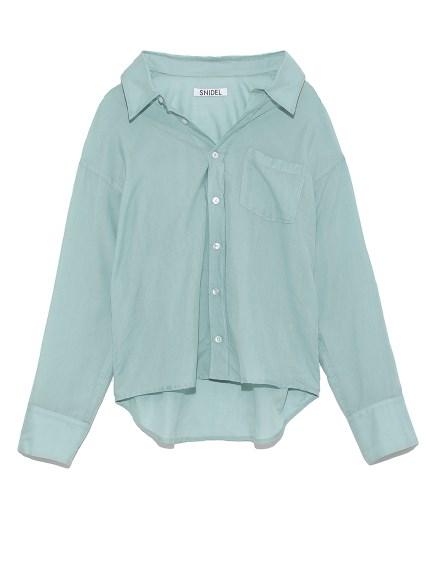 シンプルコットンシャツ(MNT-F)