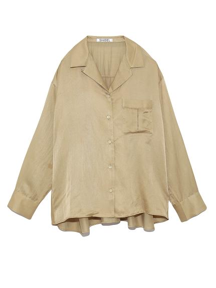シルクライクシャツ(OLV-F)