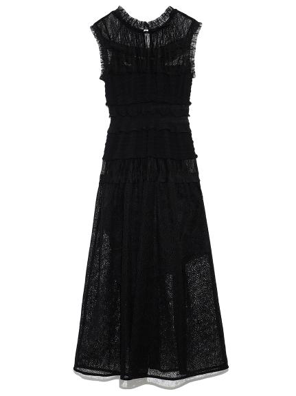 ミックスプリーツドレス
