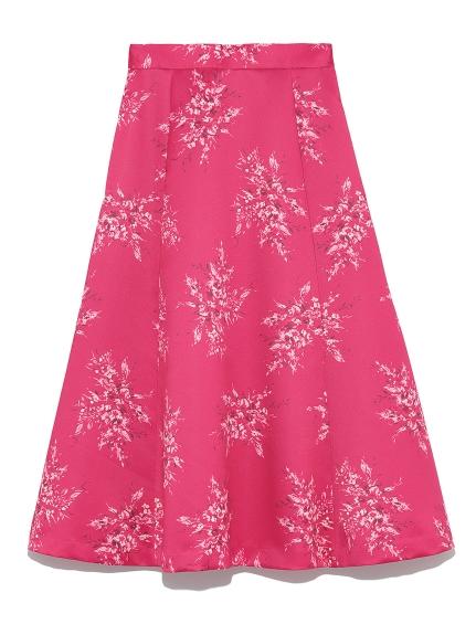 ミモレフレアプリントスカート