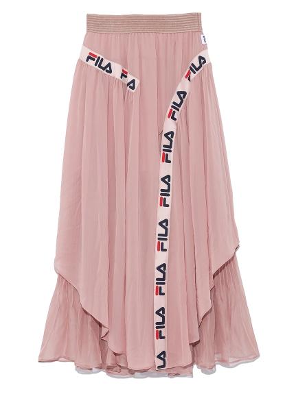 FILAラインスカート(PNK-F)