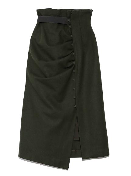ドレープデザインタイトスカート(KKI-0)