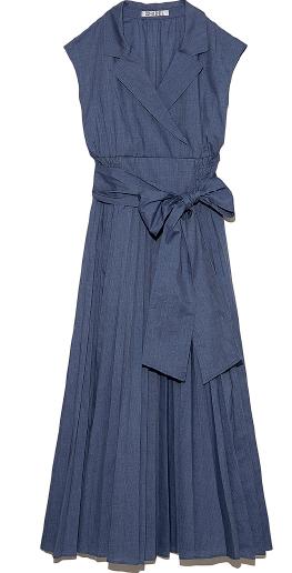 Shirt Pleats Dress