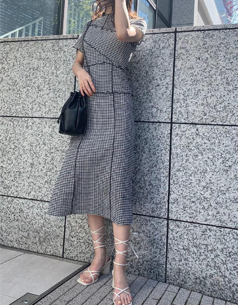 Dress 15,500yen+tax   Bag 7,000yen+tax Shoes 12,000yen+tax